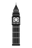 Fototapeta Big Ben - london big ben tower architecture landmark