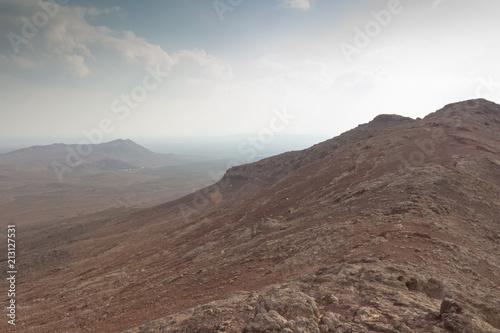 Foto op Aluminium Cappuccino Eastern desert volcano