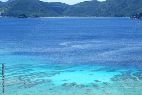 Staande foto Zee / Oceaan 加計呂麻島の海