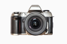 Classic Photo Camera Isolated ...