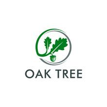 Oak Tree Logo Template Vector ...