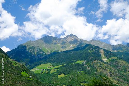 Fototapeta Mountains Dolomits in South Tyrol. obraz na płótnie