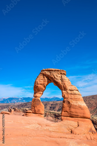 Spoed Foto op Canvas Verenigde Staten Arches national park