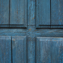 Texture Of Old Peeling Paint In The Wood Door /old Paint Background, Wood Texture