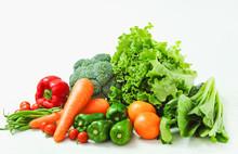 新鮮な野菜の盛り合わ...
