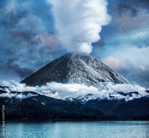 Foto op Canvas Vulkaan #09078411