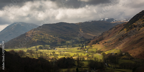 Foto op Aluminium Chocoladebruin Uk Lake District