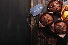 Chocolate Muffins For Breakfas...