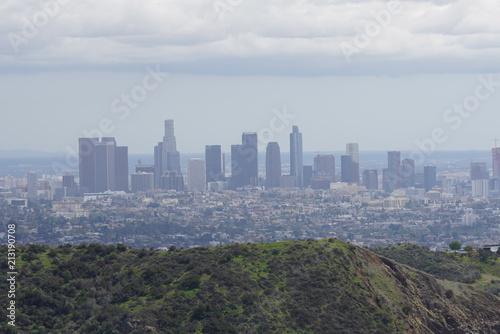 Poster Los Angeles Downtown LA