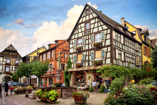 KAYSEREBERG: One of the most beautiful villages of France, Alsace Wallpaper Mural
