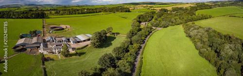 Deurstickers Groene Ayrshire Landscapes