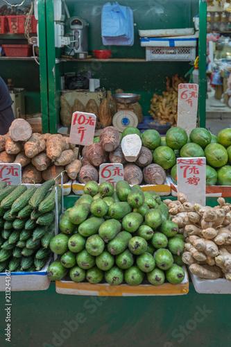 Photo  Veggie Market Stall