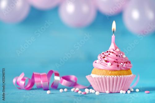 Leinwand Poster Geburtstagstorte Geburtstagskuchen Geburtstagskarte