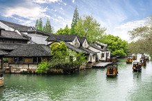 Landscape Of Wuzhen Town In China