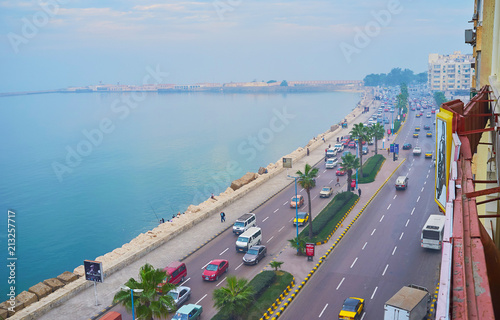 Photo Seafront of Alexandria, Egypt