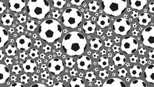 Soccer Ball Pattern Seamless B...