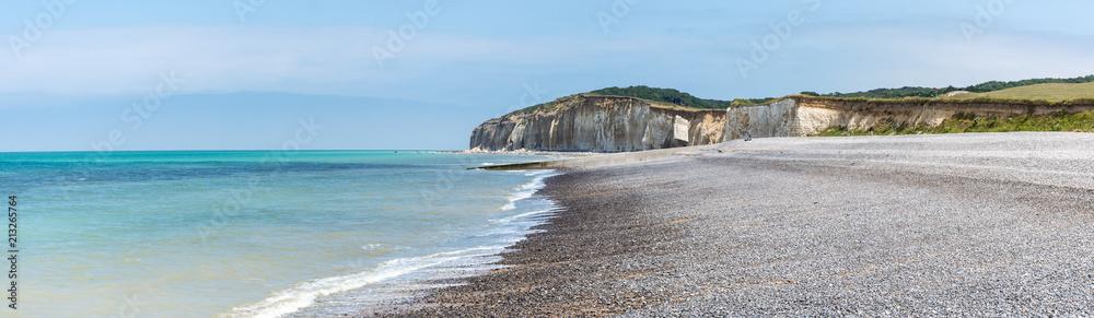 Fototapety, obrazy: Plage de Sainte-Marguerite-sur-Mer, Normandie