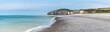canvas print picture - Plage de Sainte-Marguerite-sur-Mer, Normandie