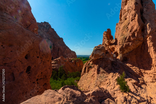 Fotobehang Bruin Garden of the Gods Colorado