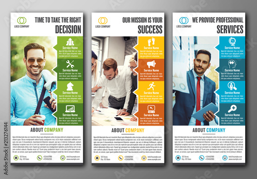 company information flyer layout buy this stock template and