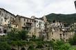Cityscape of Rocchetta Nervina, Liguria - Italy