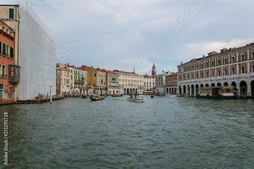 Plakat Widok kanałowy grande w Venice Italy