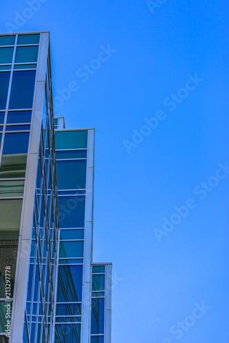 Fotografie, Obraz  Abstract angular building in Provo Utah