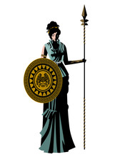 Athena Minerva Greek Goddess