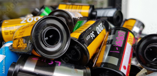 Photo film in cartridge Photographic roll film 35 mm