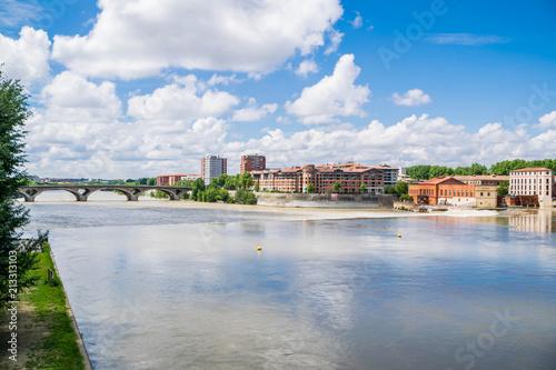 Staande foto Parijs Toulouse, Haute-Garonne, Occitanie, France.