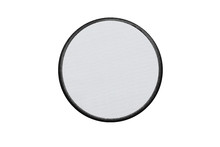Blank Circle Logo Patch On Whi...