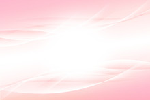 光輝くウェーブ ピンクの背景