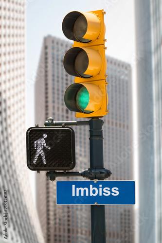 Fotografie, Obraz  Schild 293 - Imbiss