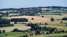 Dorf Goldbeck Im Weserbergland...