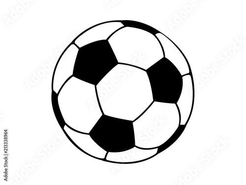 Obraz Football soccer ball illustration - fototapety do salonu