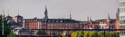 Fotografie, Obraz  Aalborg cityscape, Denmark