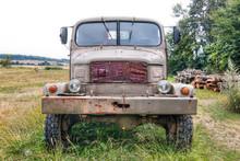 Old Terrain Truck Praga V3S