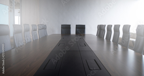 Fototapety, obrazy: Multi person meeting room and comfortable chair is neat and tidy.
