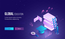 Global Education Landing Page ...