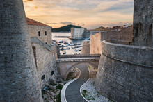 Old Town Of Dubrovnik, Croatia...