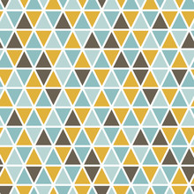 Seamless Pattern With Random T...
