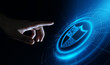 Leinwanddruck Bild - Data protection Cyber Security Privacy Business Internet Technology Concept