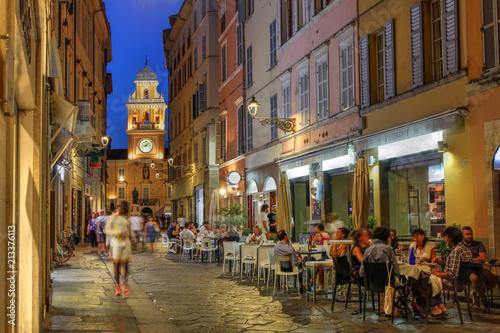 Staande foto Madrid Parma, Italy