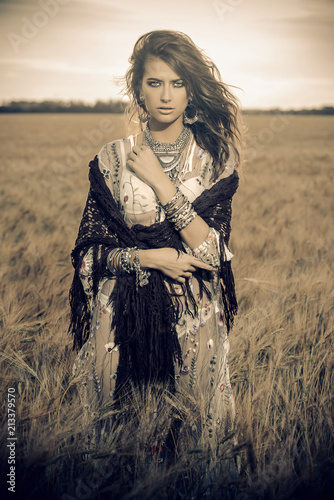 Poster Gypsy beauty of nature