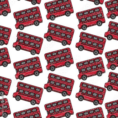 Foto london double decker bus transport background