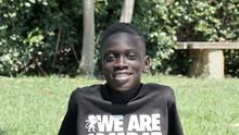 Ritratto Di Bambino Senegalese