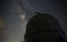 Dome Of A Small Telescope In A...