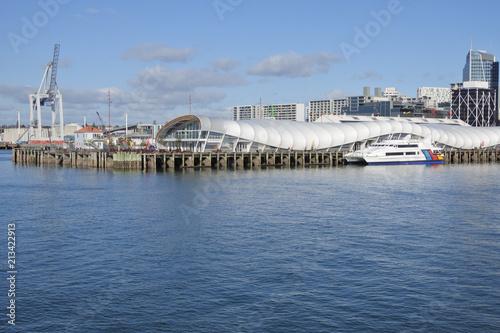 Fotobehang Oceanië View of Auckland waterfront New Zealand