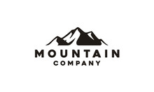 Mountain / Travel / Adventure Hipster Logo Design Inspiration