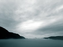 Brouillard Sur Le Saguenay